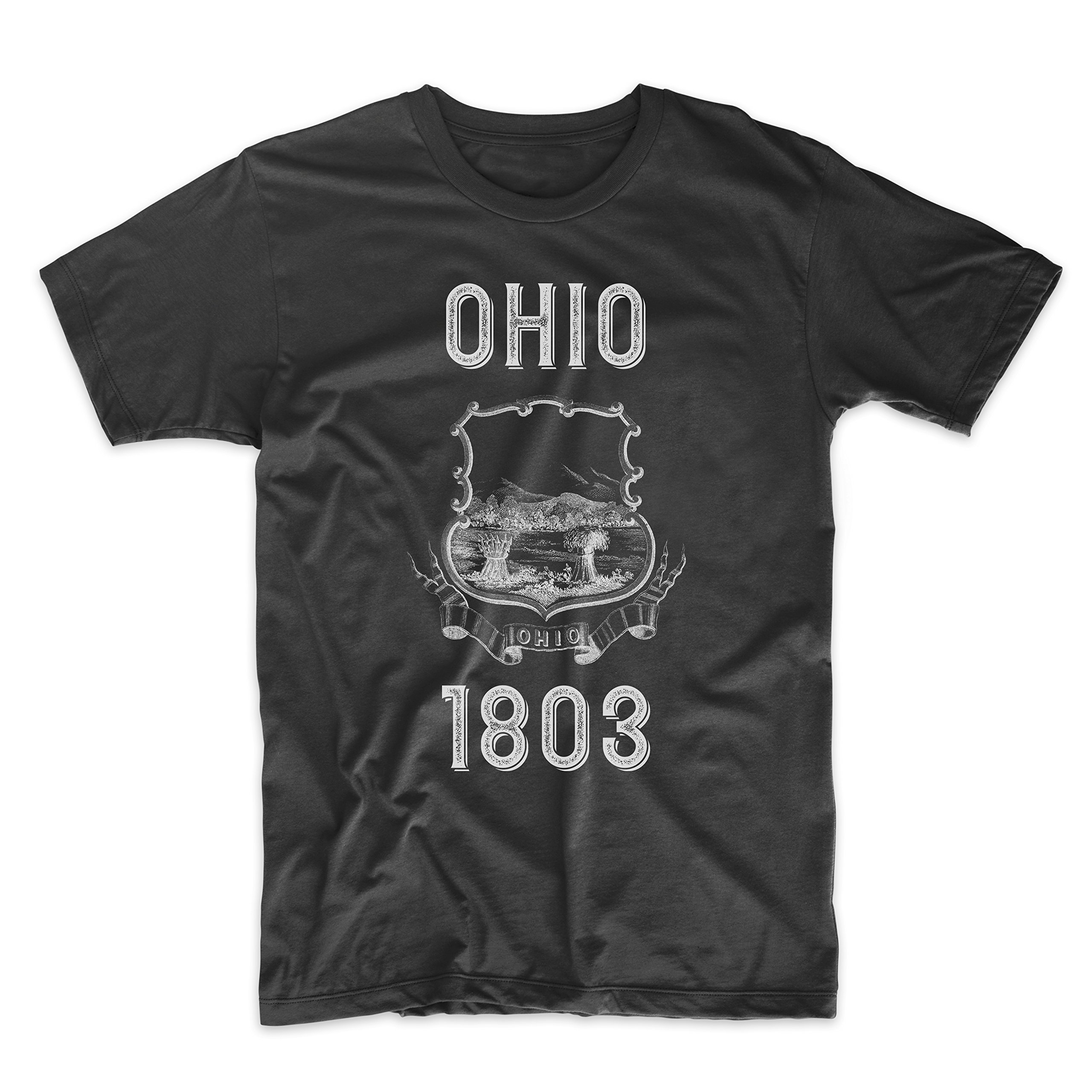 PatentPrints Ohio Coat of Arms T Shirt