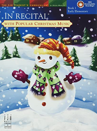 in recital with popular christmas music book 1 - Amazon Christmas Music