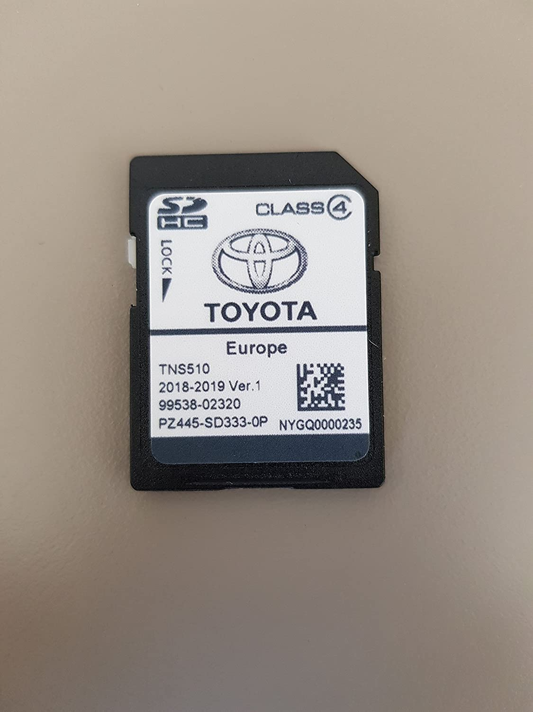 Sd Card Gps Europe Tns510 Toyota 2018 2019 Ver 1 Navigation