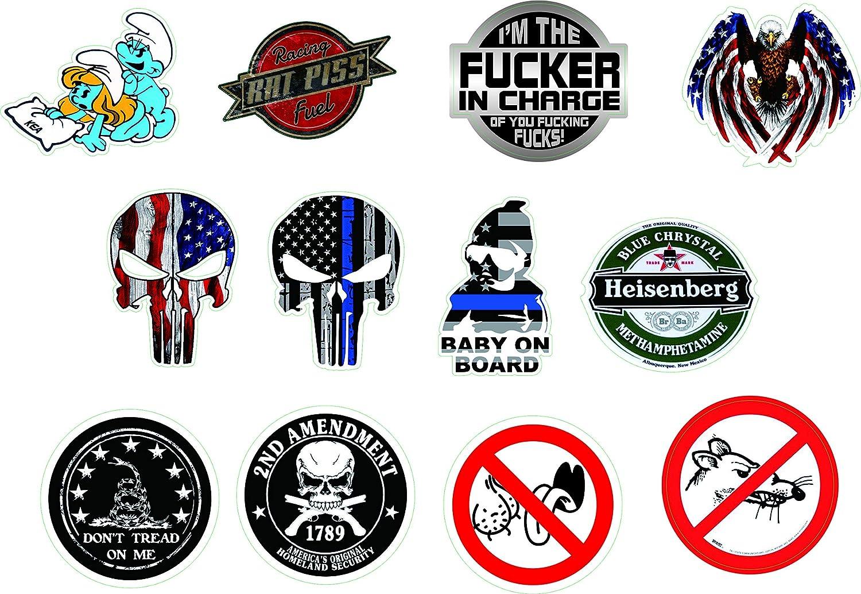 NUMBER 13 HELMET STICKER FLAG HARD HAT STICKER LAPTOP STICKER TOOLBOX STICKER