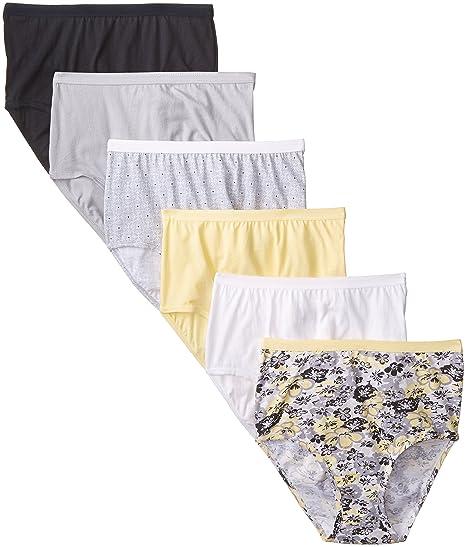 c1e73ecc9c4 Fruit of the Loom Women s Underwear Cotton Brief Panty Multipack at ...