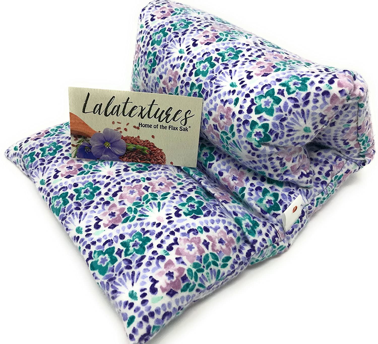 Lavender Scented Large Microwave Flax Heating Pad, The