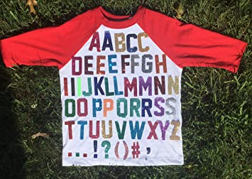 Glitter NAME Iron on Personalised Letters Number FABRIC T-SHIRT TRANSFER Sparkle