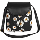 Lychee Bags Canvas/Pu Amie Sling Bag For Girls