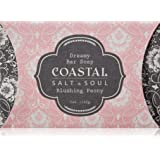 Triple-milled, lusciously lathering Dreamy Bar Soap, clinically proven to provide more hydration than the most popular bar soap in the world by Coastal Salt & Soul