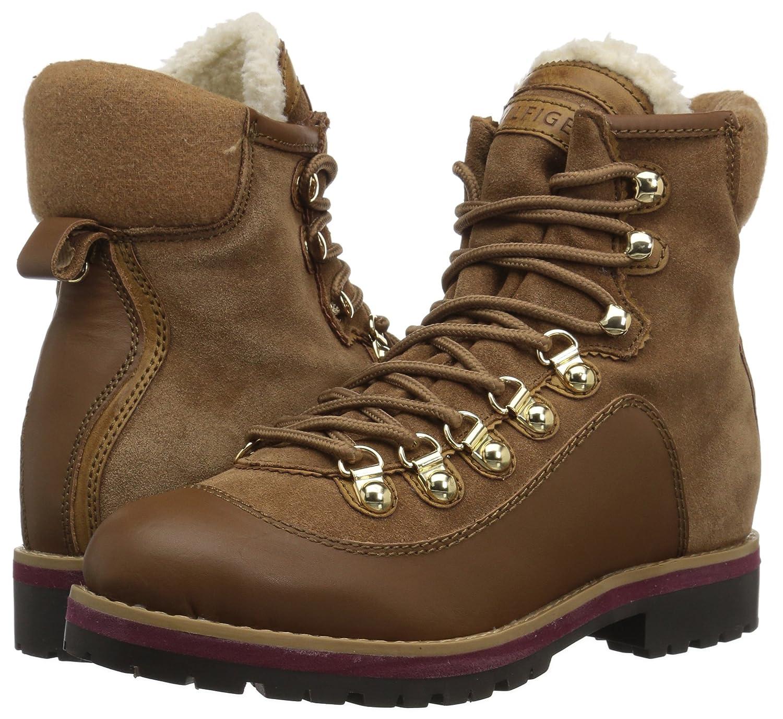 Tommy Hilfiger Women's Tonny Hiking Boot B06XV883MC 7.5 B(M) US|Saddle