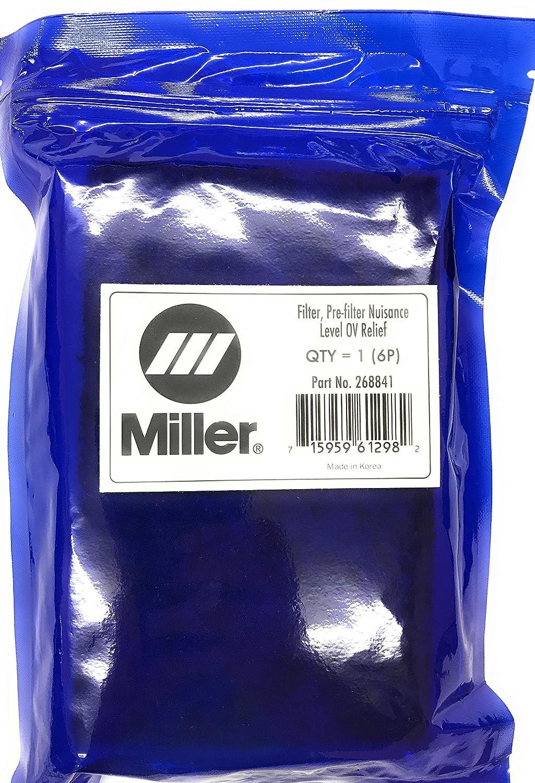 6 pack Pre Filter Nuisance OV Relief PAPR Miller 268841 Filter