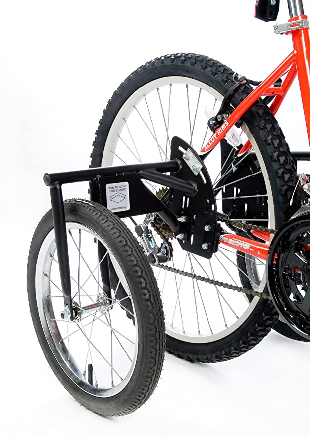 """Stabilizing wheels for exchange bike from 16/"""" to 24/"""""""