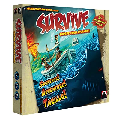 Survive Escape From Atlantis 30th Anniversary Edition: Toys & Games