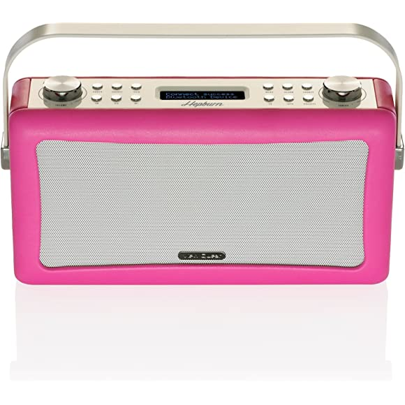 view-quest-hepburn-bluetooth-audio-system-with-dab-radio-hot-pink