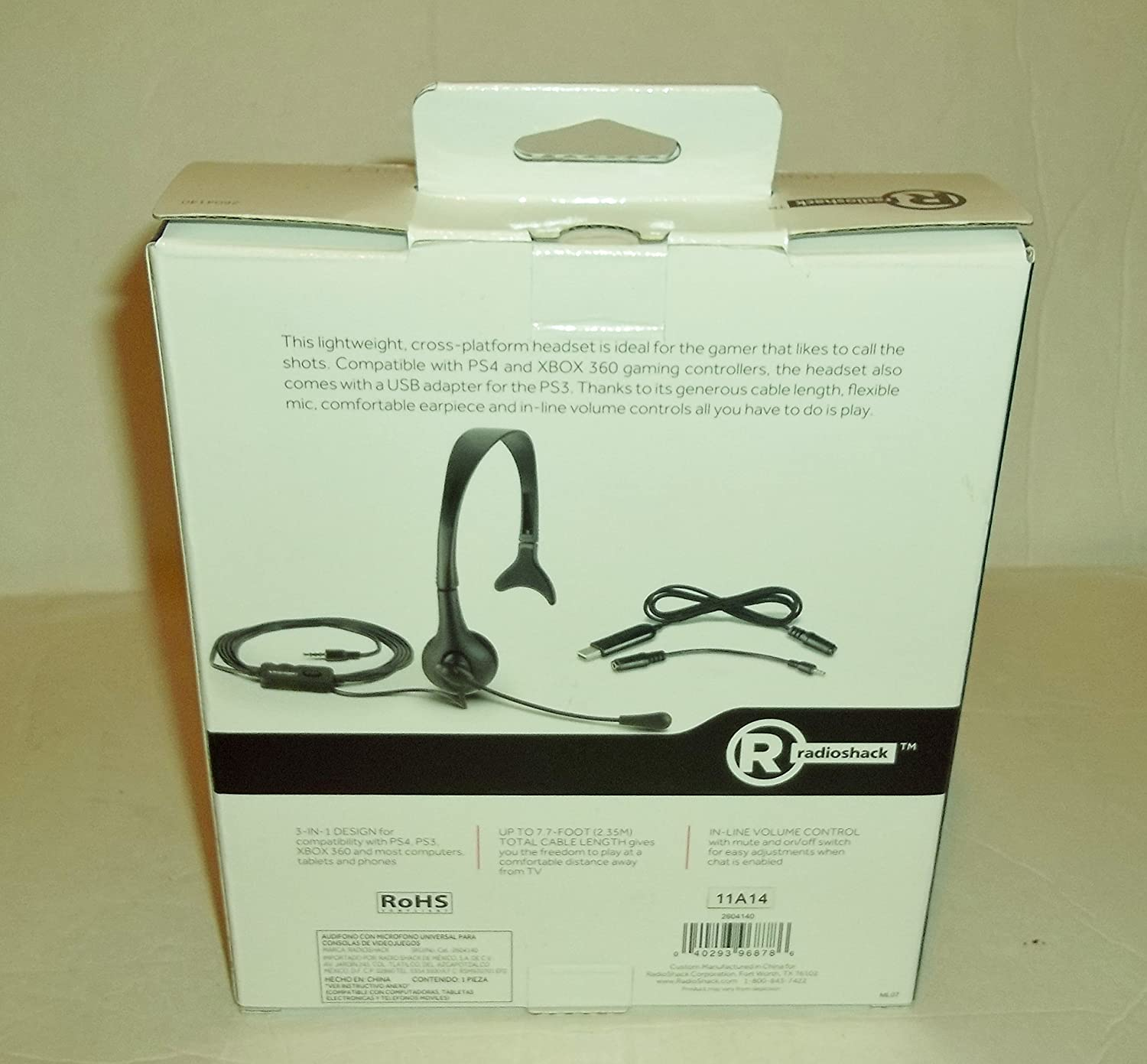 Amazon Radio Shack Universal Gaming Headset puters