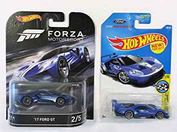 Two Hot Wheels Retro Entertainment Forza Motorsport  Ford Gt