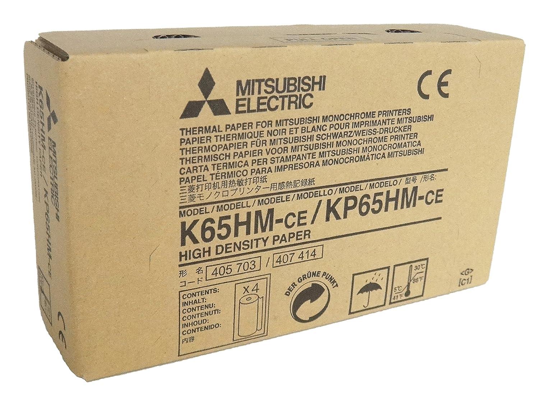 MITSUBISHI K65HM-CE/ KP65HM-CE Rollos de papel térmico de alta ...