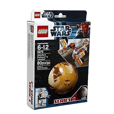 LEGO 9675 Star Wars Sebulba's Podracer & Tatooine: Toys & Games