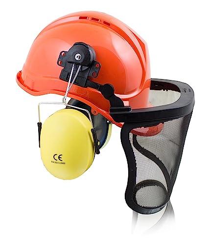 bituxx® Casco de trabajo casco de protección Casco de seguridad Casco Casco de construcción –
