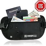 Money Belt RFID Blocking Undercover Hidden Waist Stash For Travelling
