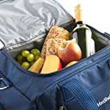 VonShef 6 Person Deluxe Picnic Holdall Bag with