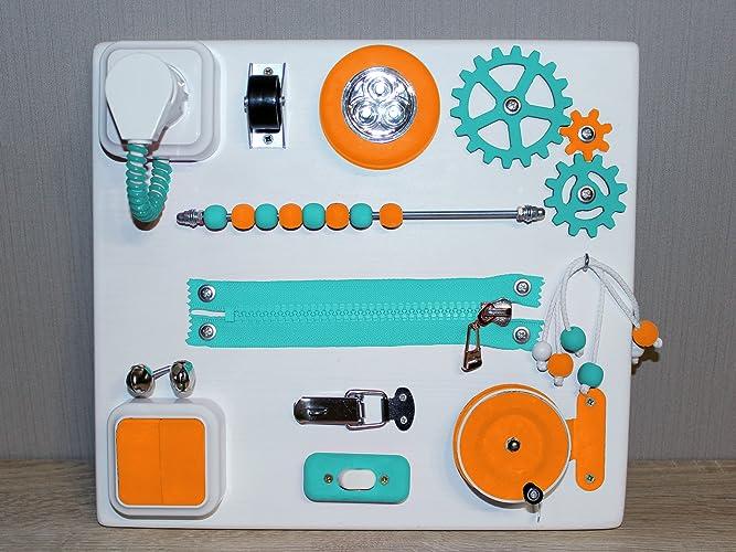 Tablero Ocupado Tablero De Actividad Juguetes Montessori Juguetes