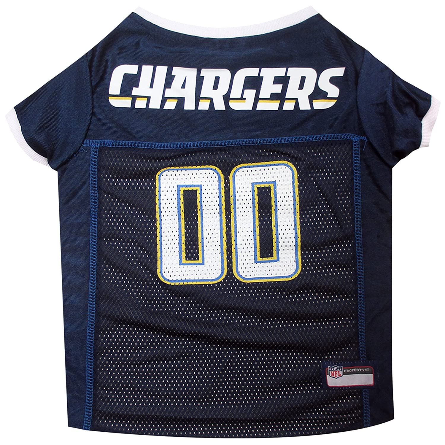 145f7cf5b Amazon.com   Pets First NFL San Diego Chargers Jersey