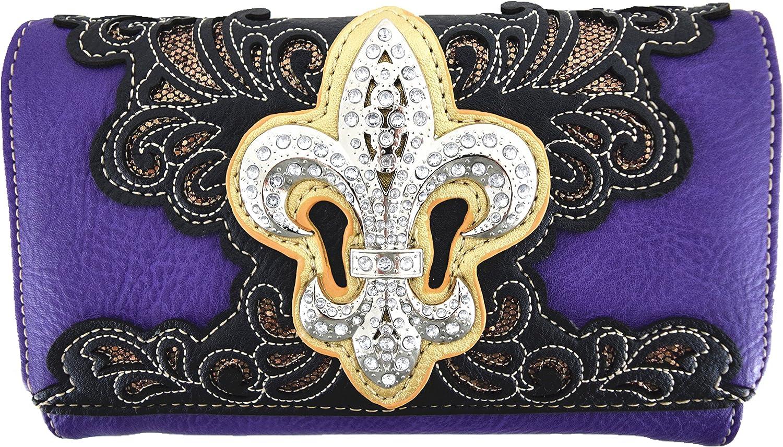 PU Leather Fashion Bag Handbad Elegant Purse Classical Pattern Womens
