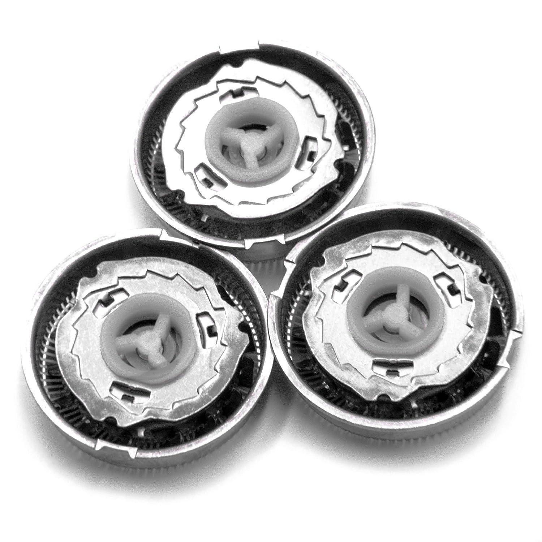 vhbw 3 x testina per rasoio Philips HQ5401, HQ5421, HQ5425, HQ5426, HQ5430, HQ5461, HQ5465, HQ5601, HQ5604, HQ5625, HQ5699, HQ5800, HQ5801