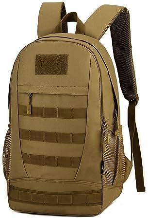 DCCN 30L Mochila táctica militar senderismo Molle Daypack para Outdoor Senderismo camping Viajes, marrón: Amazon.es: Deportes y aire libre