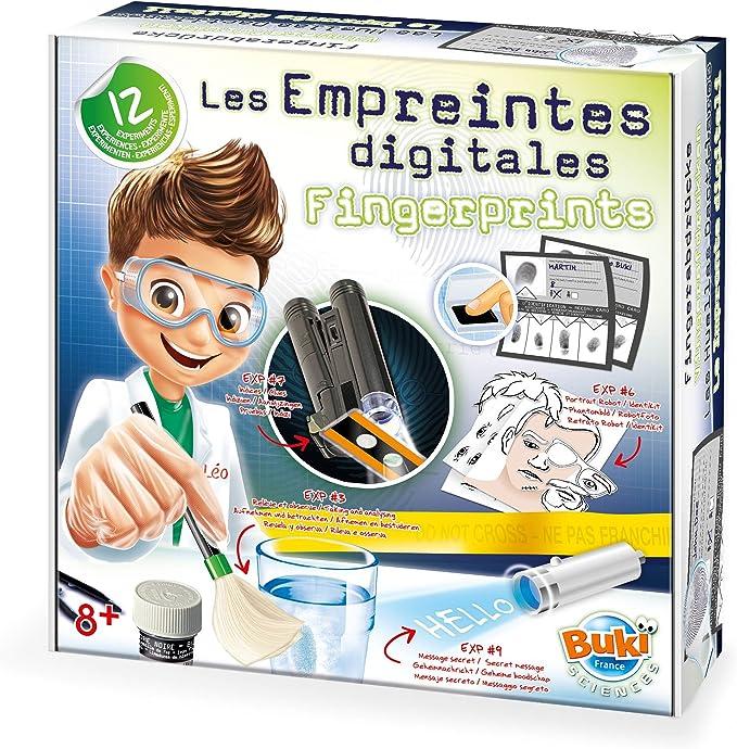Buki - 7101 - Les Empreintes Digitales