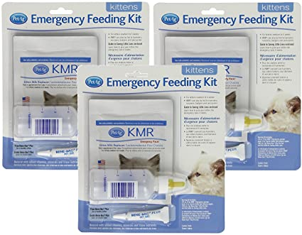 Buy Pet Ag 3 Pack Petag Kitten Milk Replacer Kmr Emergency Feeding Kit Online At Low Prices In India Amazon In