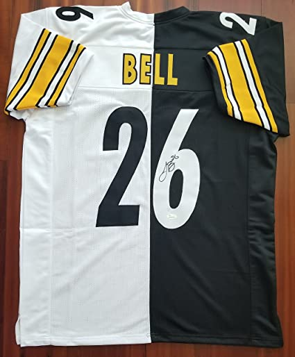 507841e4ff5 Image Unavailable. Image not available for. Color  LeVeon Bell Autographed  Signed Jersey Pittsburgh Steelers JSA