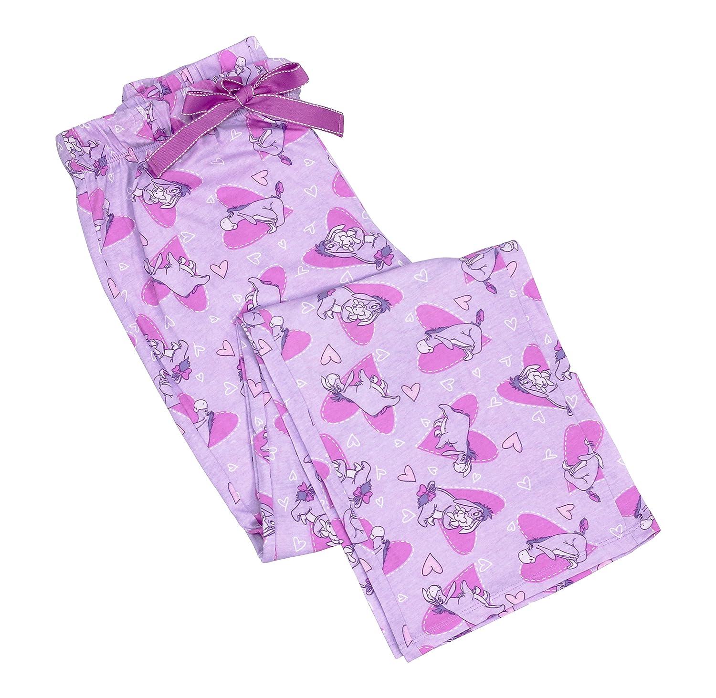 Disney Women's Eeyore Lounge Lavendar Pink Pants