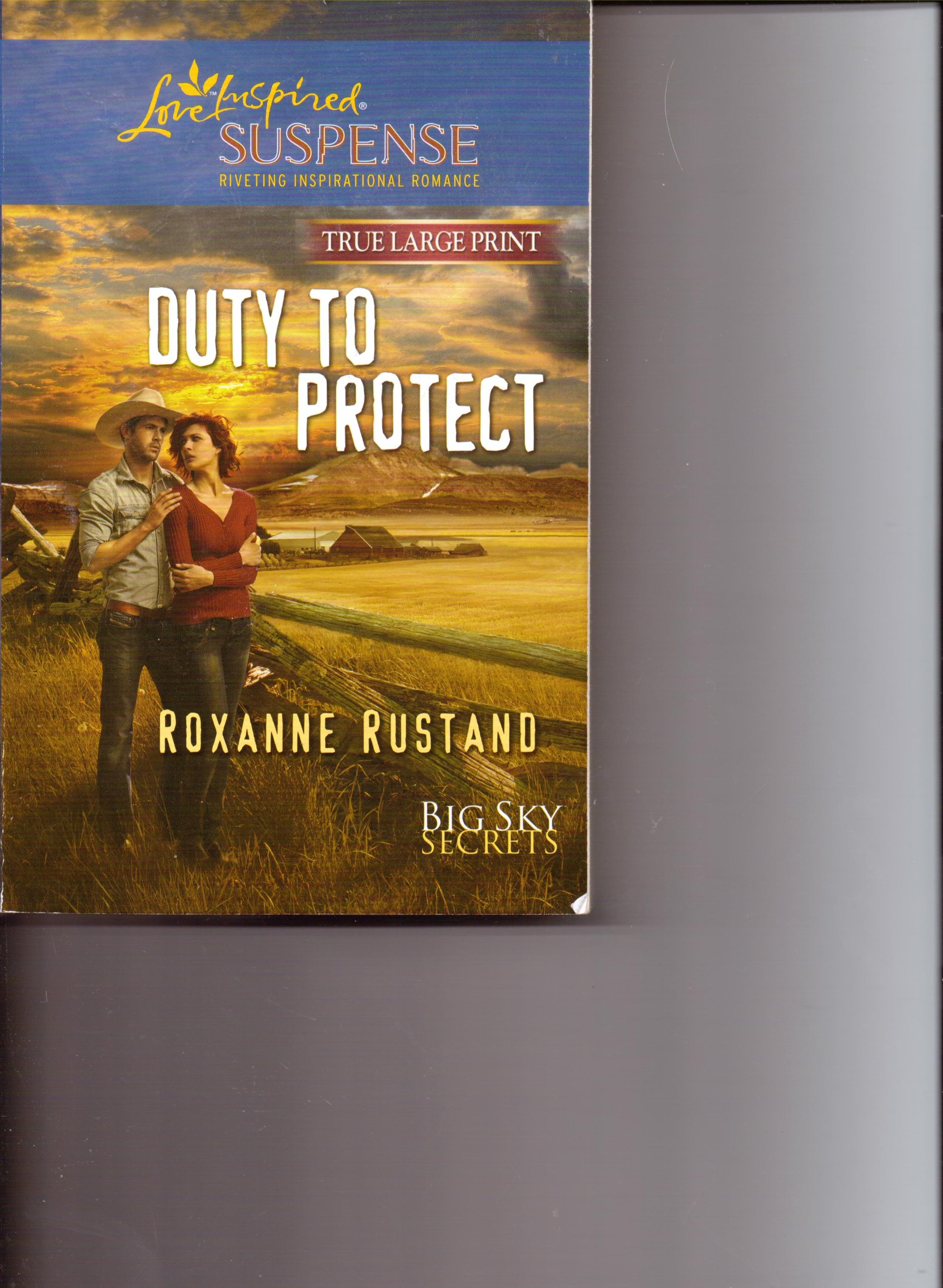 Read Online Duty to Protect, Big Sky Secrets (Love Inspired Suspense True Large Print) ebook