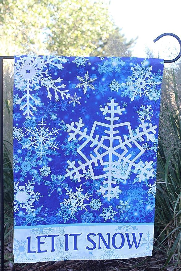 Amazon.com: Bandera de jardín de invierno para decoración de ...