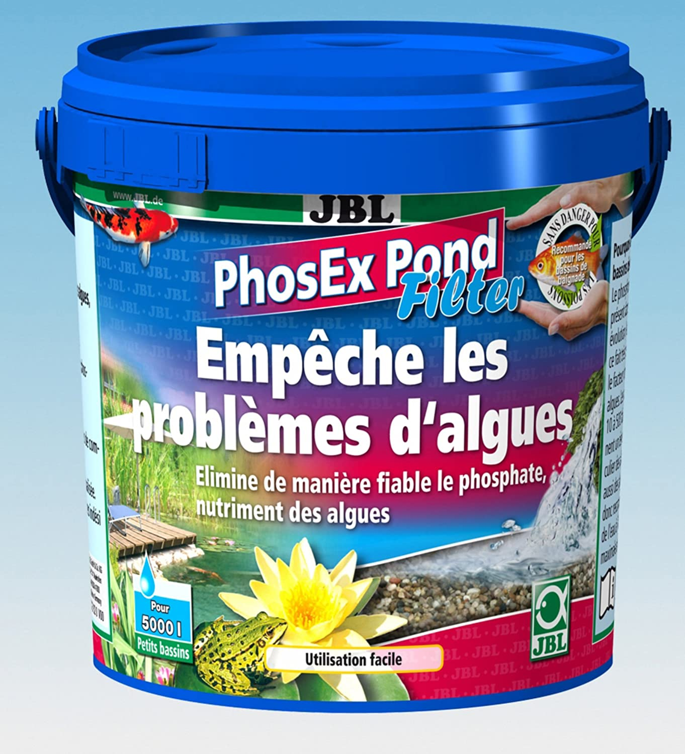 JBL Phosex Pond Filter pour Aquariophilie Marron 500 g/1 L 2737382
