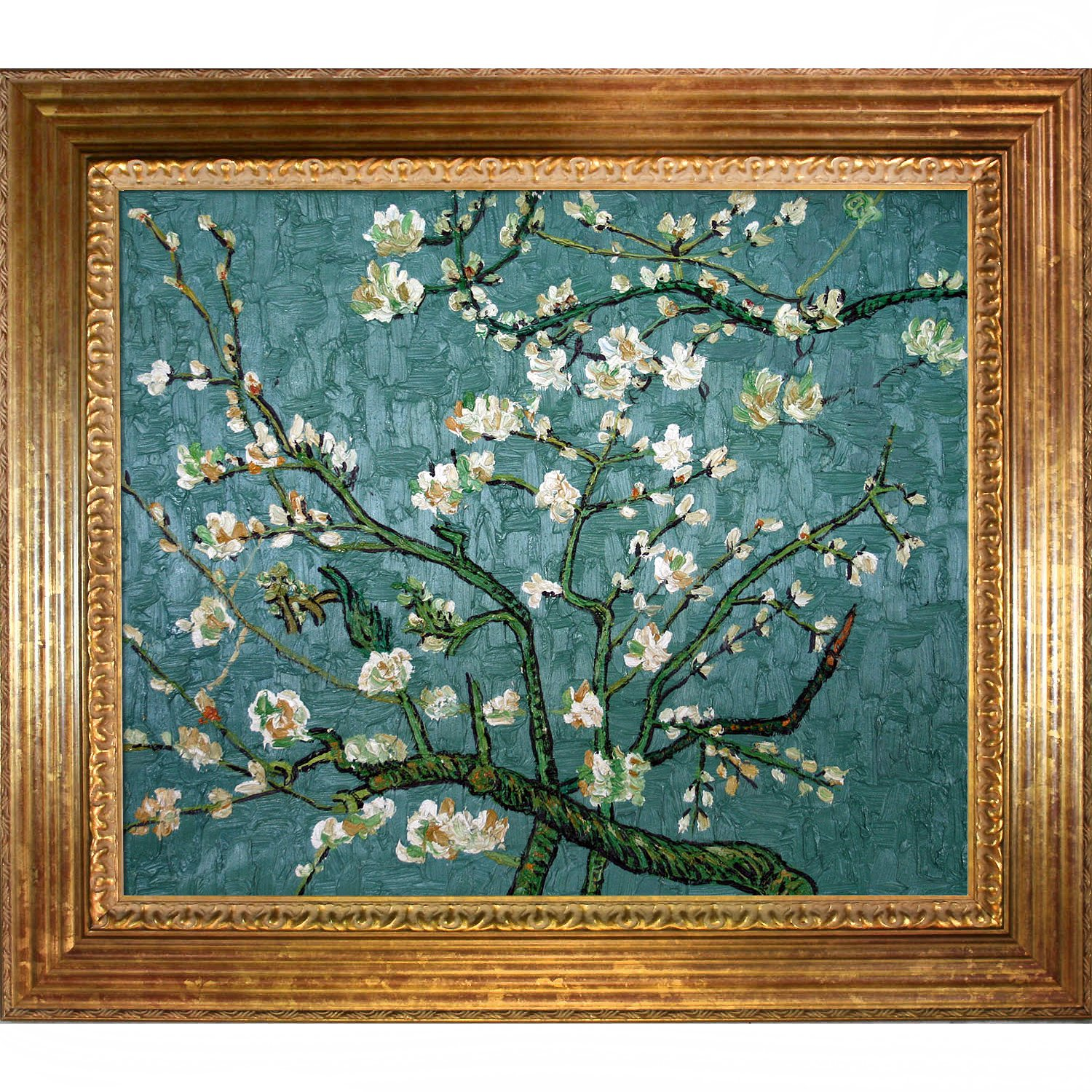 Lovely Amazon.com: Hand-Painted Reproduction of Van Gogh Branches of An  GV97
