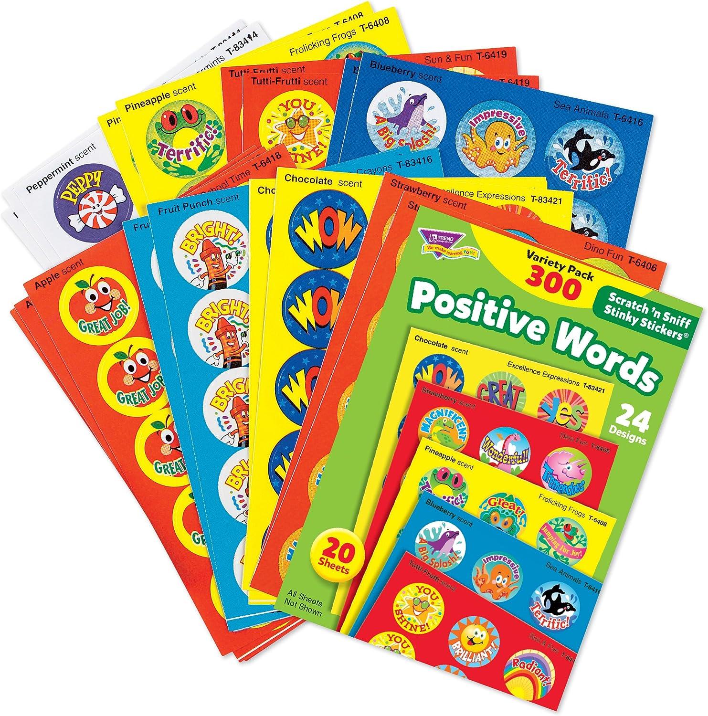 Trend Enterprises Stinky Stickers Variety Praisewords Stickers TEPT6480