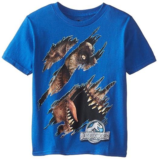 395af54f Amazon.com: Jurassic World Boys' Short Sleeve T-Shirt: Clothing