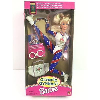 Barbie Olympic Gymnast 1996 Atlanta Games Doll: Toys & Games