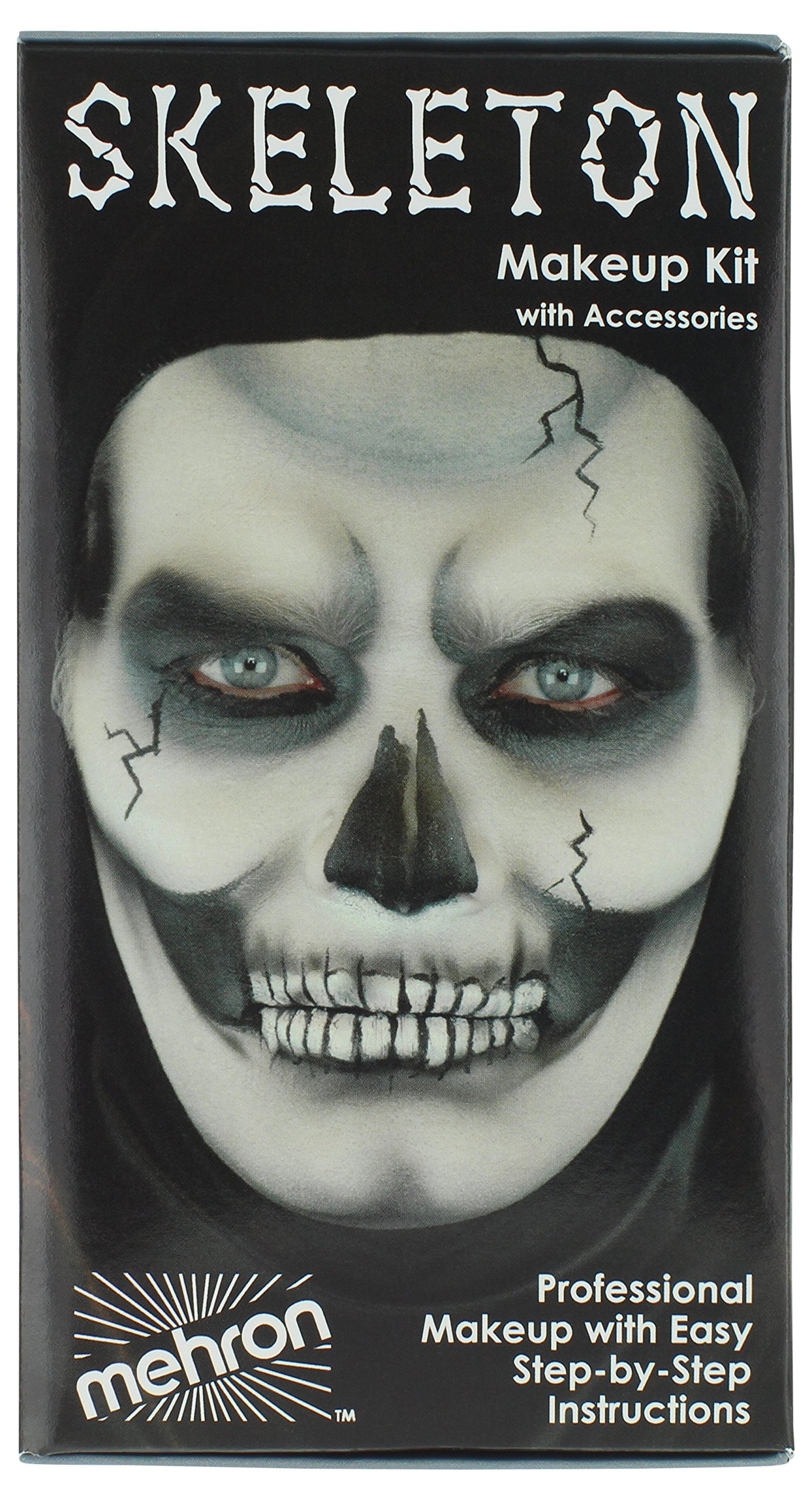 Mehron Makeup Premium Character Kit (Skeleton)