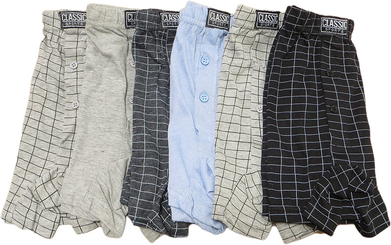 Cotton Rich Boxers Sockstack/® 12 Pairs Mens Boxer Shorts Underwear S-6XL