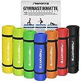 Gymnastikmatte Yoga | inkl. Übungsposter | 190 x 60 x 1,5 cm | Hautfreundlich - Phthalatfrei - in verschiedenen Farben | sehr weich - extra dick | Fitnessmatte