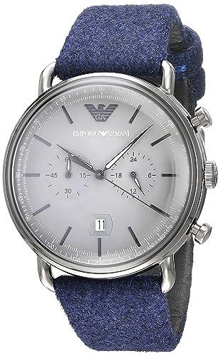 bc64a9052e8f Emporio Armani Aviator - Reloj de Cuarzo para Hombre