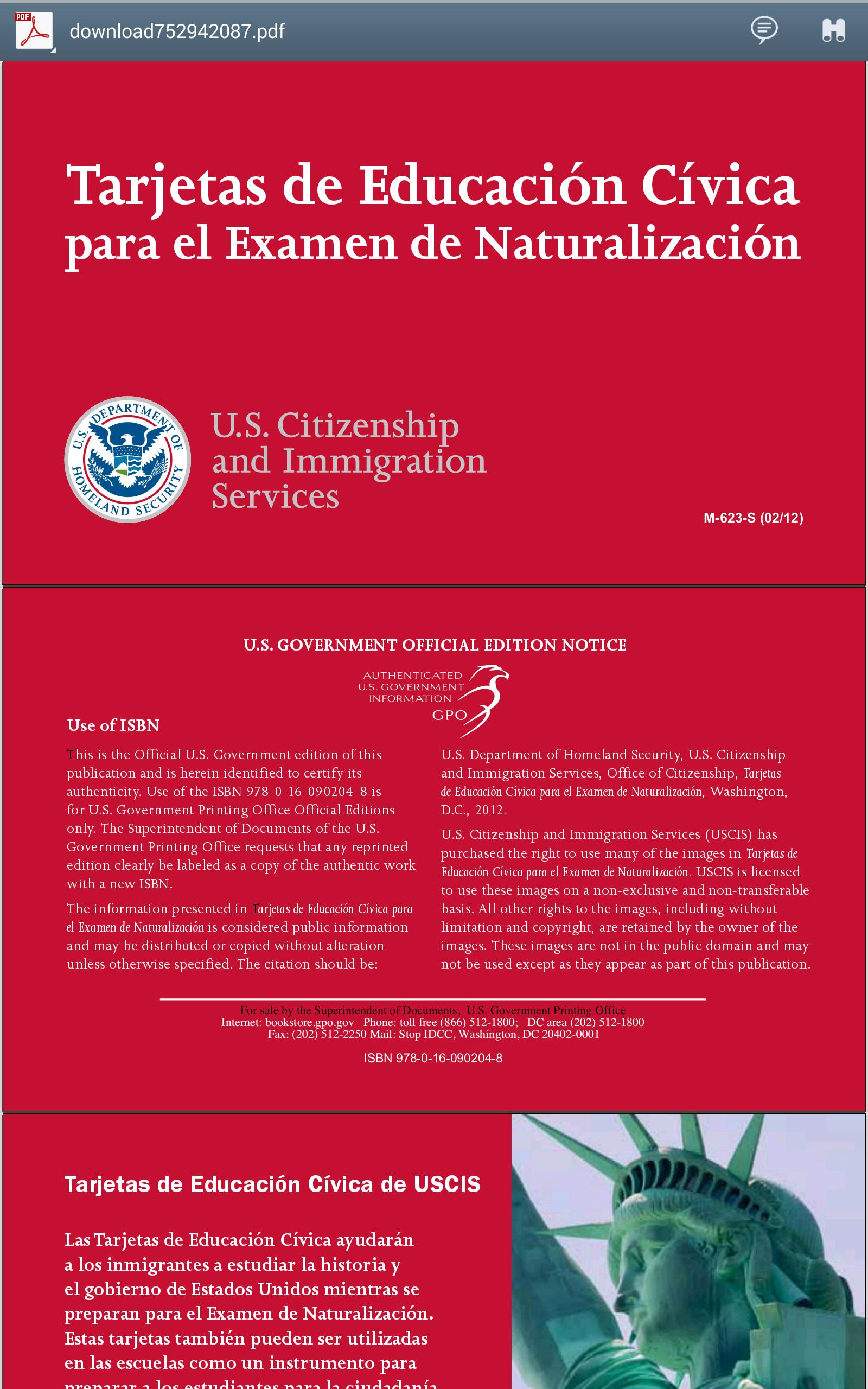 Amazon.com: US Citizenship Flash Cards: Appstore for Android