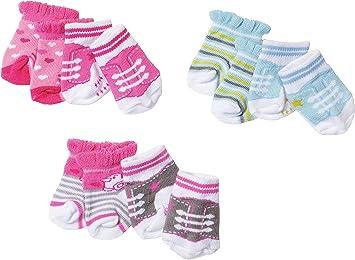 BABY born Socks, 2 pack Calcetines de muñeca - Accesorios para ...