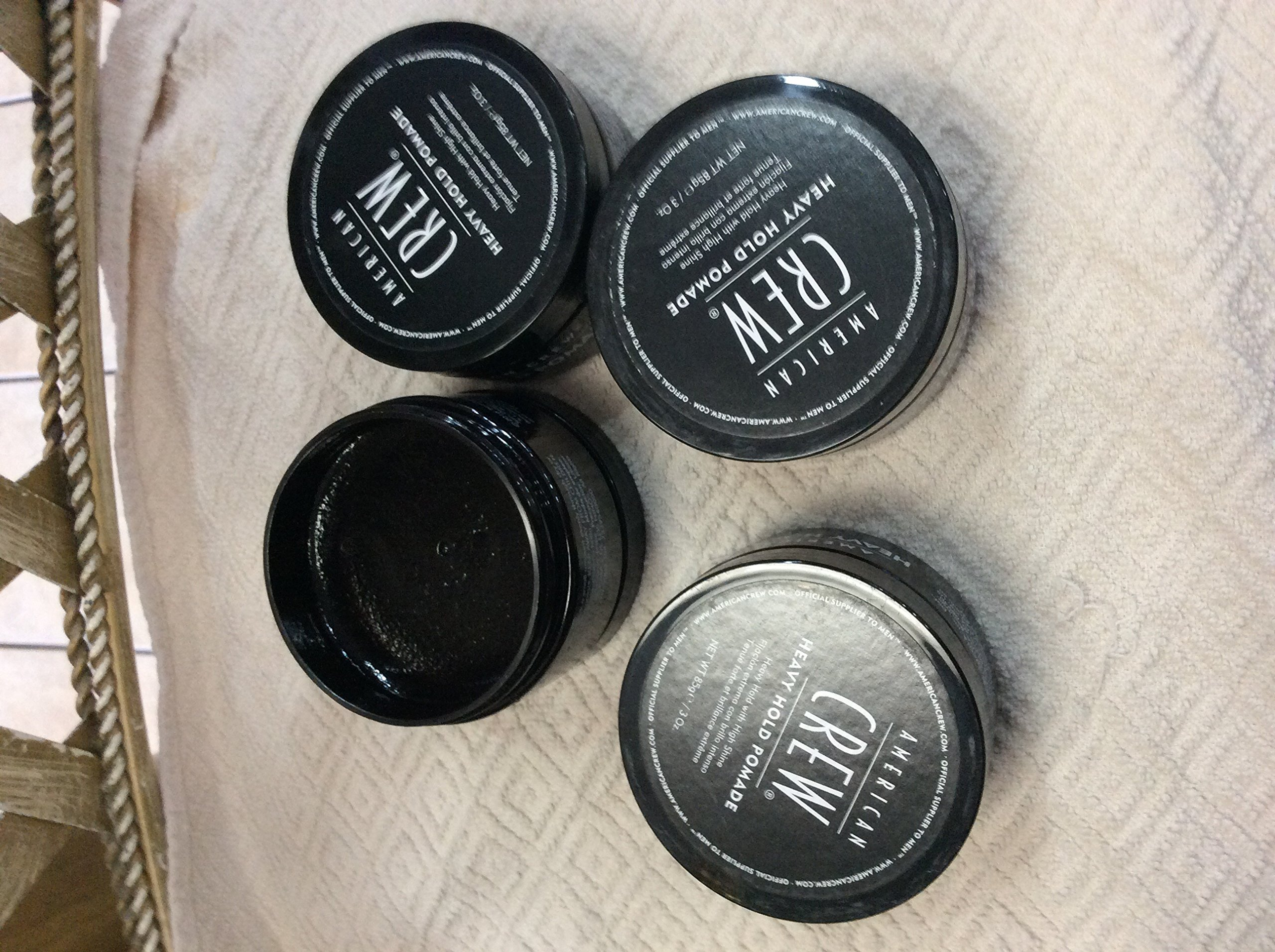 American Crew Heavy Hold Pomade (4 pack) 3 oz/each by AMERICAN CREW