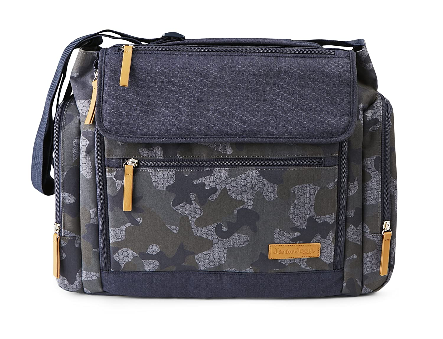 f6fbeb79be Amazon.com   J Is For Jeep Large Diaper Duffel Messenger Bag Combo - Roomy  Design - Camouflage   Baby