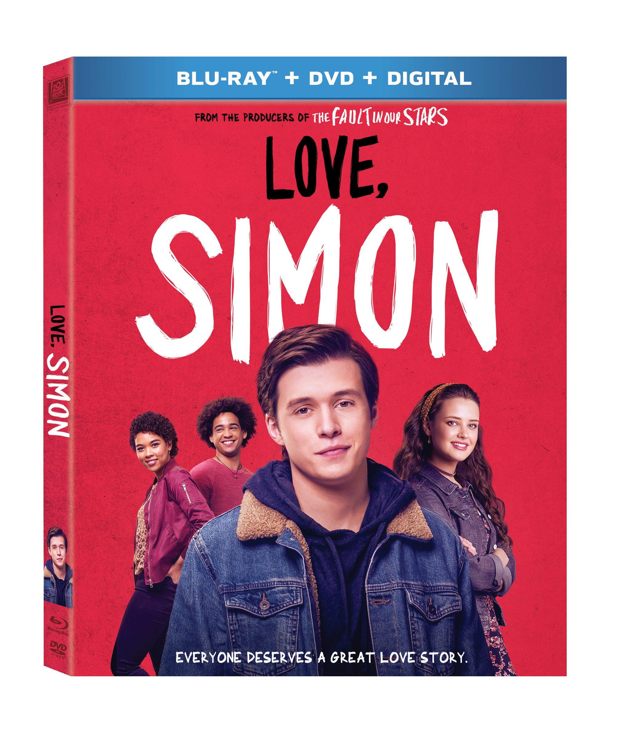 Blu-ray : Love, Simon (With DVD, Subtitled, Widescreen, Dolby, Digital Theater System)