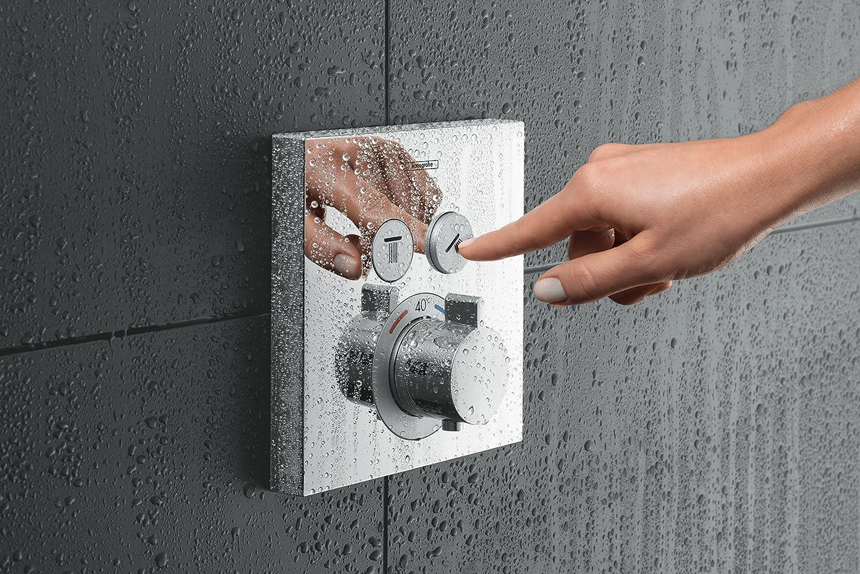 Hansgrohe 15763000 ShowerSelect termostato empotrado, cromo, 2 salidas: Amazon.es: Bricolaje y herramientas