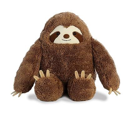 Amazon Com Aurora 15 Inch Three Toed Sloth Plush Stuffed Animal