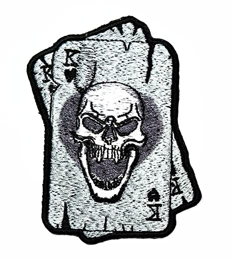Amazon Com Hho Master Skull Poker Ace Card Old School Gambling