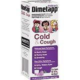 Dimetapp Children's Cold & Cough Antihistamine, Cough Suppressant, & Decongestant (Grape Flavor, 4 fl. oz. Bottle)